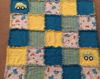 Baby Quilt- Cars