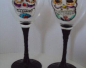 Sugar Skull/Day of the Dead Glasses
