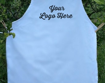Logo Apron, custom apron,Personalized Apron  Custom Embroidered Apron Company logo Custom logo Custom Embroidered Apron