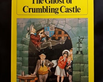 The Ghost of Crumbling Castle by Jane MacMichael. Illustrated by Ron Embleton. Hardback 1972. First Edition.