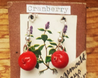 Cranberry Earrings