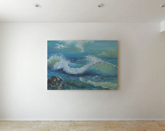 Waves - Canvas decor