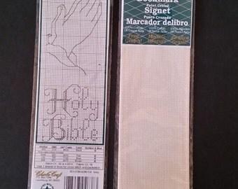 Holy Bible Cross Stitch Book Mark Kits