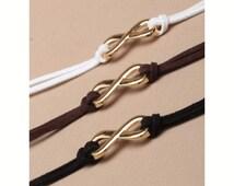 Friendship Infinity love charm bracelet anklet