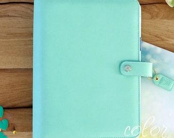A5 BINDER KIT, Mint Planner Binder with Kit, Color Crush, Notebook Binder, Notebook Binder, Monthly Planner, Daily Planner, Weekly Planner,