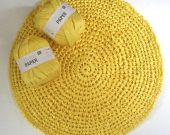 Rico Creative paper yarn. 100% paper yarn, yarn