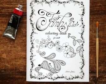 """Fantasy"" colouring Book"