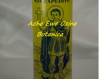 Saint Expedito, San Expedito, Fortune, Prosperity, CANDLE