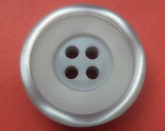 9 buttons light grey grey 23mm (4698)