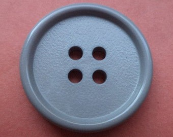 8 grey button buttons 21mm(4279)