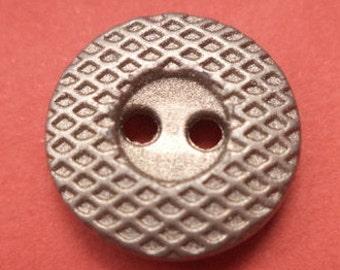 16 mm (5602) metal button buttons 10 metal buttons silver