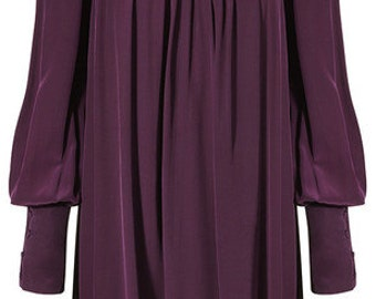 Vintage BIBA 60's/70's purple dress