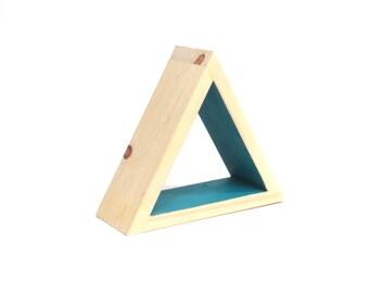 Modern Triangle Shelf, Modern Shelf, Modern Shelving