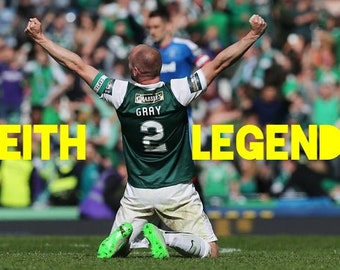 "Hibernian FC Leith Legends ""Sir David Gray"""