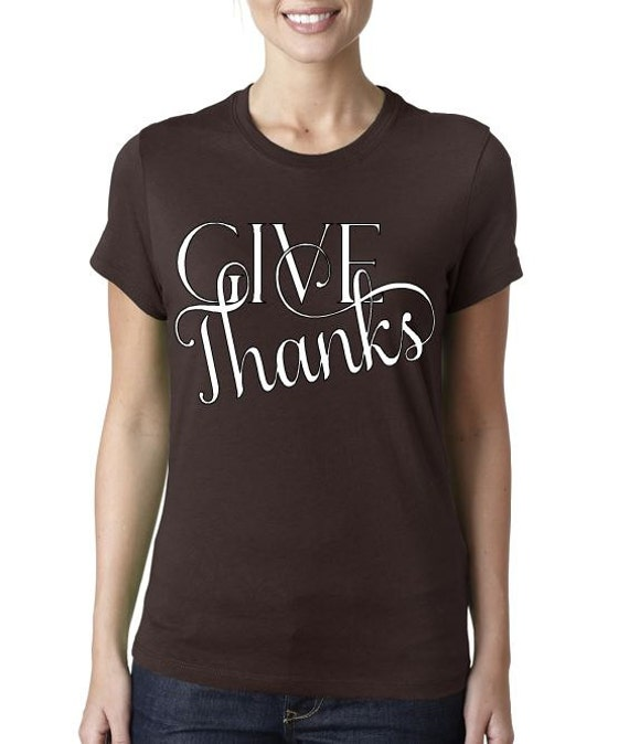 Fall/Autumn Graphic Women's Fit Tees - Give Thanks, Thankful & Blessed