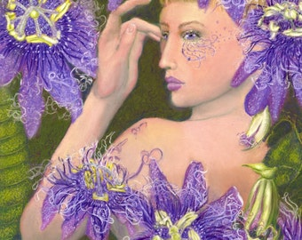 Portia and the Passion Flowers