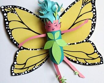 Solana Butterfly Fairy Art