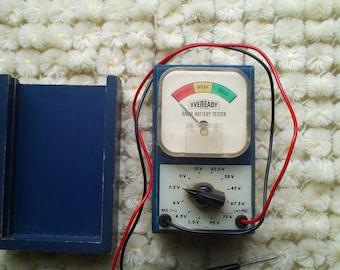 EVEREADY radio battery tester