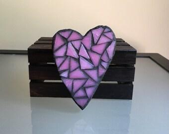 Mosaic Heart Magnet