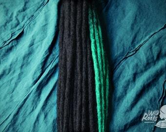 Permanent dreadlocks extensions, crochet method - Handmade