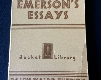emerson essays pic Recent posts ralph waldo emerson essays nature pictures, how can i do literature review, cheapest will writing service posted on april 1, 2018 by.