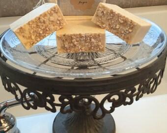 Handmade Honey Oatmeal Soap