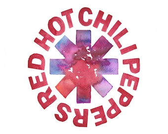 Red Hot Chili Peppers // Art Print // Wall Art // RHCP