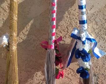Wedding Day Jump the Broom