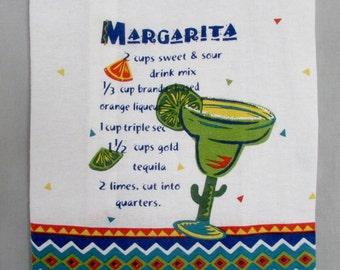 Margarita Dish Towel Beach/Shopping Tote Bag