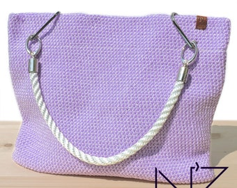 Beach lilac bag Big bag tote Totes Crocket cover up bag Weekender bag Beach bag tote Hobo bag Large bag Boho bag Summer bag