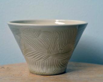 Ceramic Bowl 'Walden Pond' Wheel Thrown Pottery