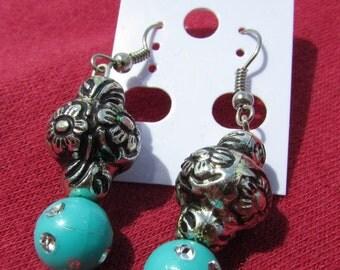 Abigail's Beaded Drop Earrings 001