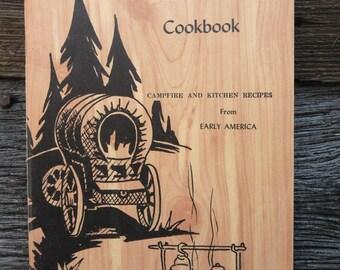 Pioneer cookbook, Early American cookbook, Recipe book