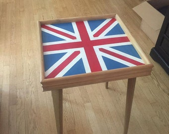 Union Jack Tea Table