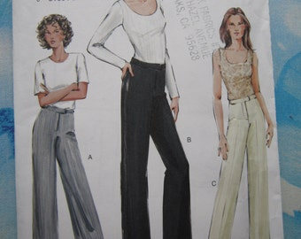 Vogue 7804 Trousers Sewing Pattern 18-22