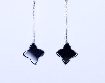 AS of clover earrings