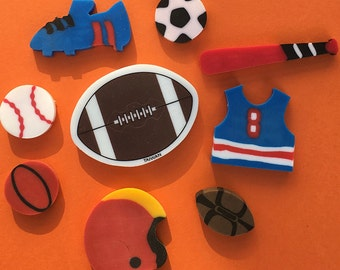 Sports Eraser Collection Set