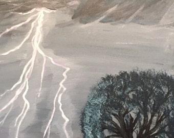 Lightning painting
