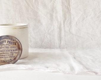 Antique Cherry Paste Jar with Lid