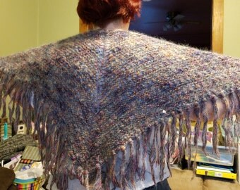 A Mohair Shawl of Many Colors