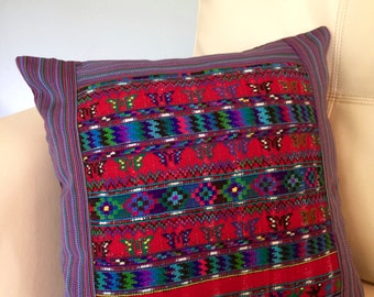 Handmade Huipil Pillow Covers- Pillow Cases