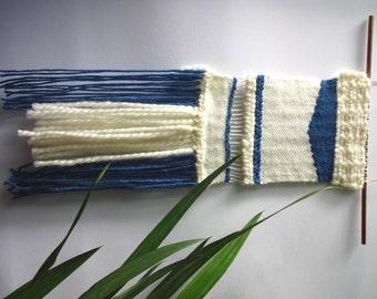 Wovenwallhanging, woven, weave, weaving, gewebter Wandteppich