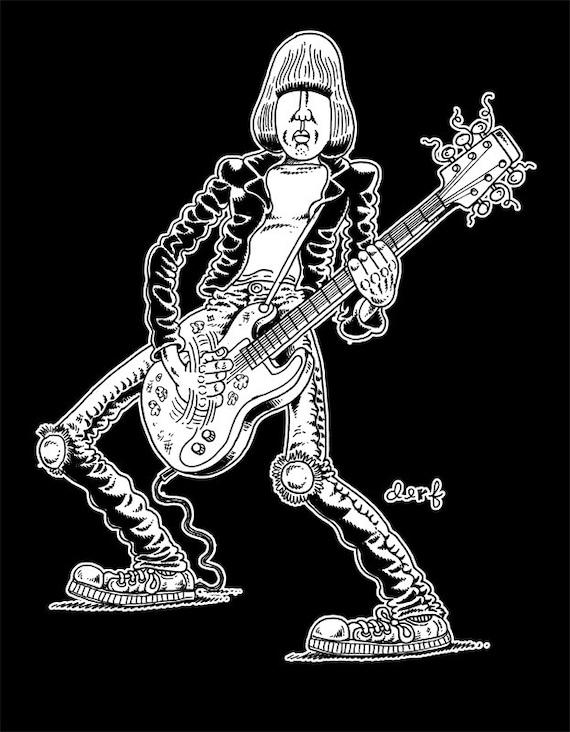 Johnny shirt by Derf Backderf