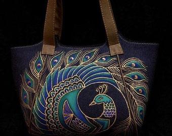 Hand Painted Handbag