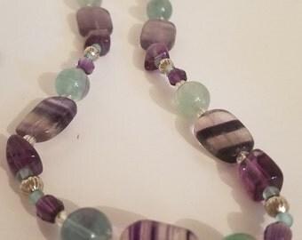 Fabulous fluorite necklace