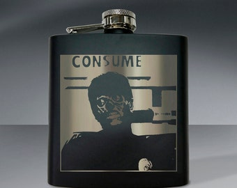 They Live Consume Flask 01 - 6 oz. Flask