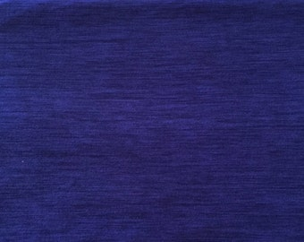 Poly Spandex Brushed Heather - Moisture Wicking Performance Fabric ROYAL BLUE