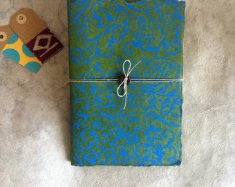 Handmade notebook Arabesque-Handmade Notebook-Write Me!