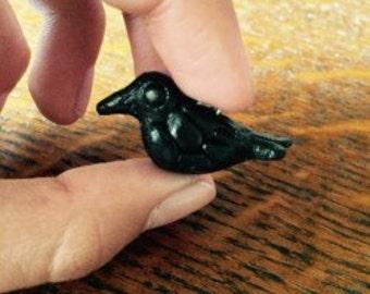 Crow or Raven charm