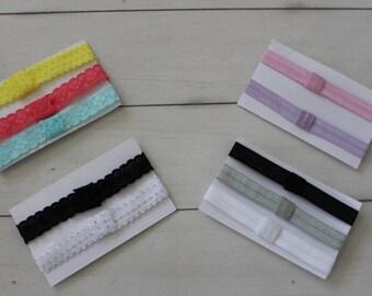Interchangeable Elastic Headband - Buy 3 Get One Free!